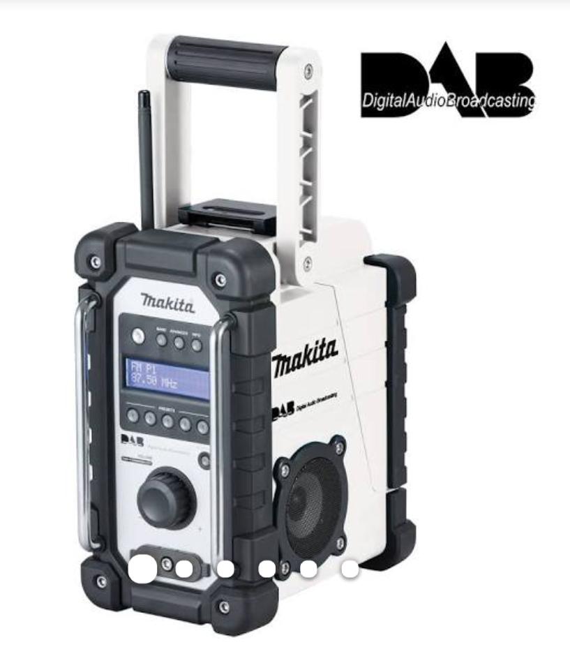 Makita DMR109W radio £90 @ CNS
