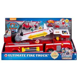 Paw Patrol Ultimate Rescue Fire Truck only £37.50 @ Asda