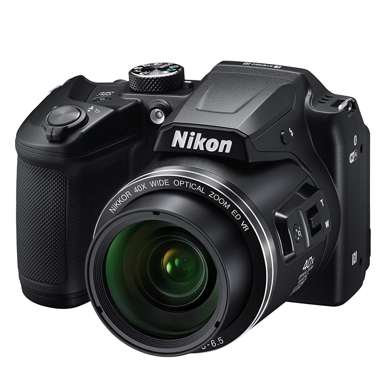 Nikon B500 Coolpix Digital Compact Camera - Black for £190.80 Delivered @ Amazon UK