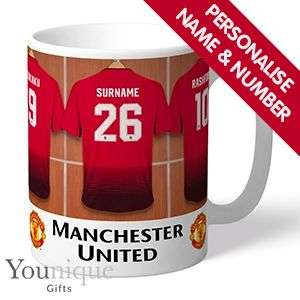 Personalised Manchester United mug £6.99 + £3.50 delivery @ homebargains ( more premier league teams available)