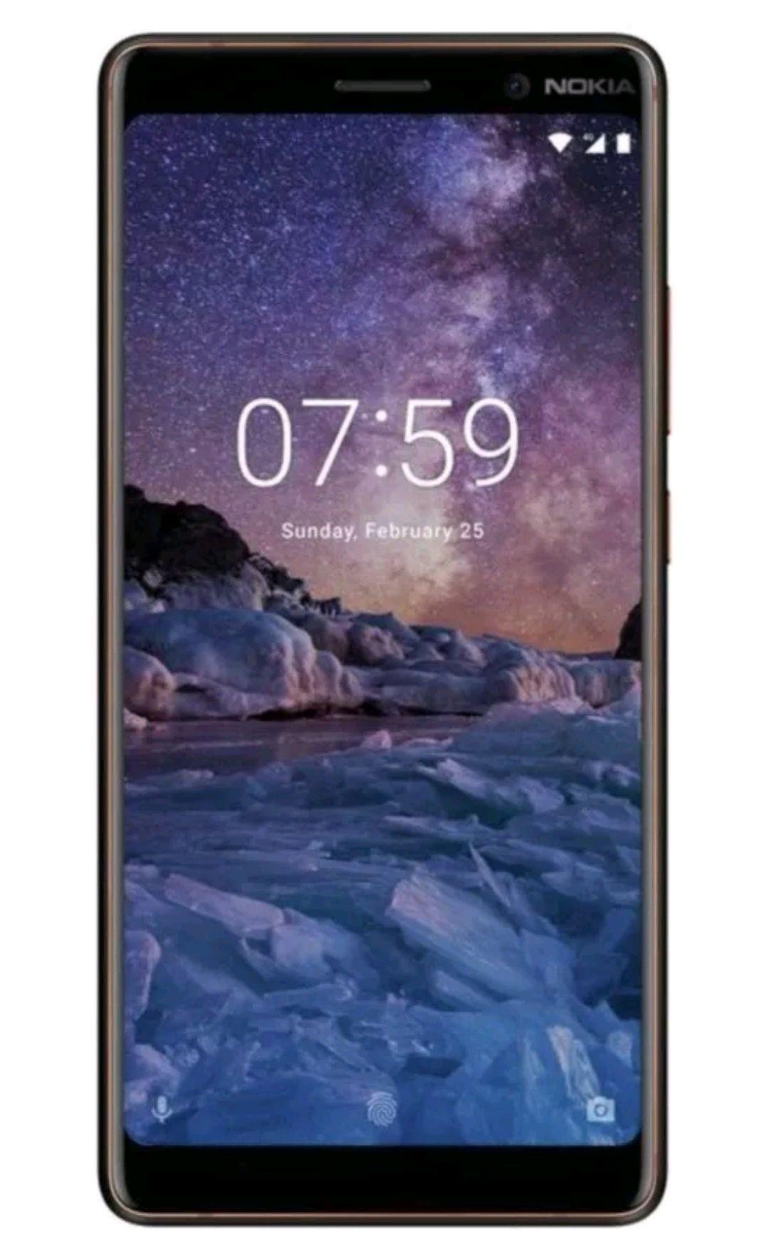 SIM Free Nokia 7 Plus 6 Inch 24MP 64GB 4GB 4G Mobile Phone - Black/CopperRefurbished with a 12 month Argos guarantee - £199.99 @ Argos Ebay