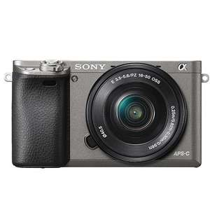 Sony A6000 Camera in Grey with 16-50mm Lens + Free Sony Case - £369 (With Cashback) @ Jessops