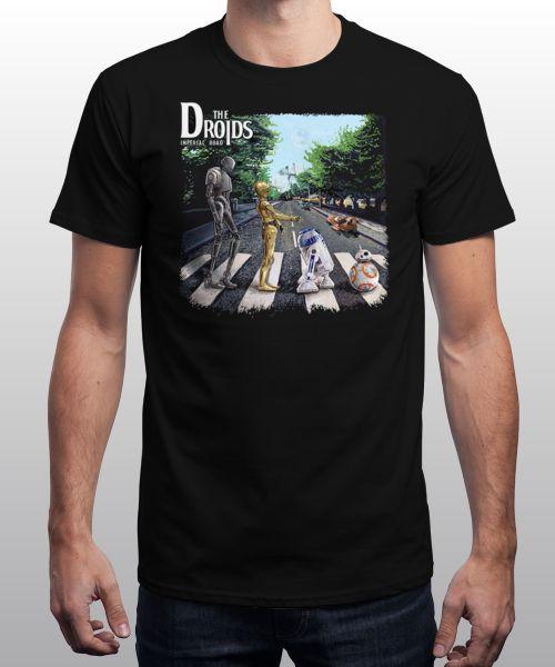 The droids Beatles parody t shirt 24hr sale plus £2.99 postage @ Qwertee