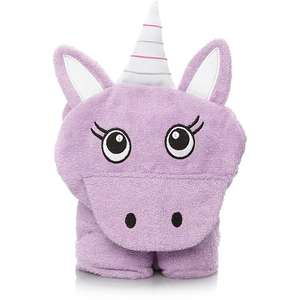 Kids Purple Unicorn Hooded Towel £3 @ George Asda - Free C&C or £2.95 delivery