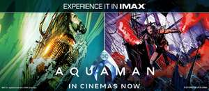 FREE AQUAMAN POSTER at Cineworld IMAX sites