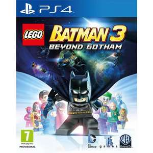LEGO Batman 3: Beyond Gotham PS4 @ The Game Collection £10.95