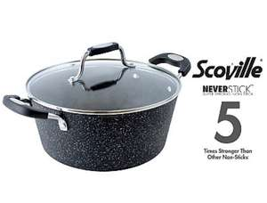 Scoville Neverstick 24cm Stock Pot £11 (lifetime guarantee) @ Asda George free c+c