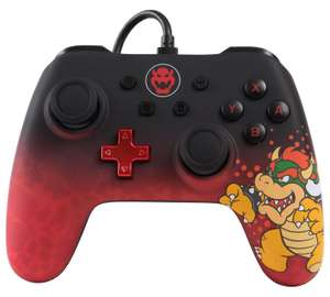 Nintendo Switch Bowser wired controller REDUCED £17.99 at Argos