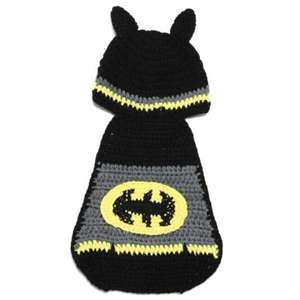 Batman baby hat/blanket (free delivery) 82p at Dresslily