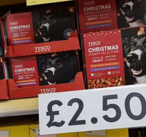 Christmas dog food, cat food also available @ Tesco instore £2.50
