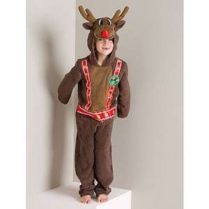 Rudolph Reindeer Christmas Fancy Dress £8 @ George - Free c&c