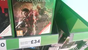 Soulcalibur VI xbox one instore at Tesco for £34