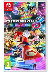 Mario kart 8 deluxe at base.com for £39.85