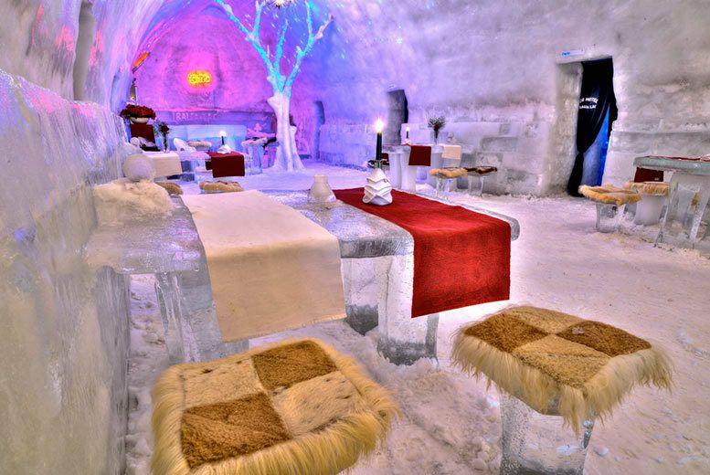 From Luton: Romania Trip Inc Transylvania's Ice Hotel Stay, Flights & Car Hire £120.73pp @ booking.com