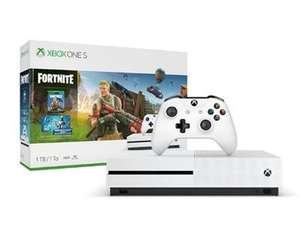 Microsoft Xbox One S 1TB Console and Fortnite Battle Royale Bundle £189.99 delivered @ bt