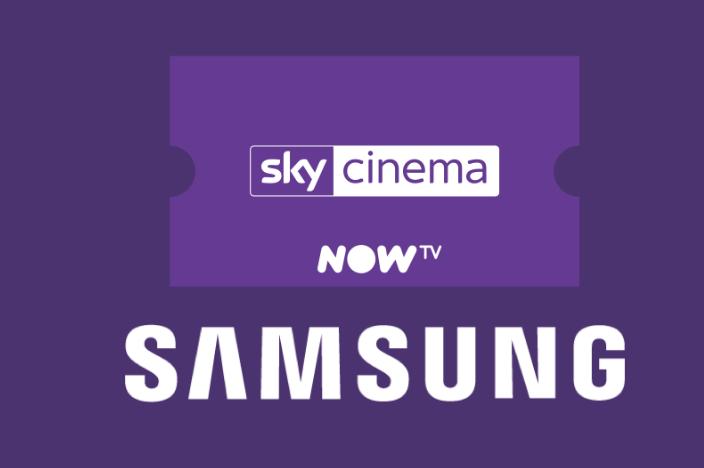 one months worth of NowTV cinema via Samsung