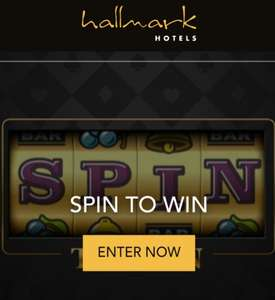 Hallmark Hotel - Spin To Win - Instant 2 For 1 Dinner Vouchers Available