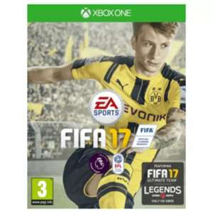 FIFA 17 (pre-owned) 99p delivered @ game