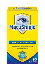 Cheapest price I've ever seen on this pricey supplement - still £44.99 at Boots! - Macushield Capsules - (Pack of 90) £21.79 @ Amazon