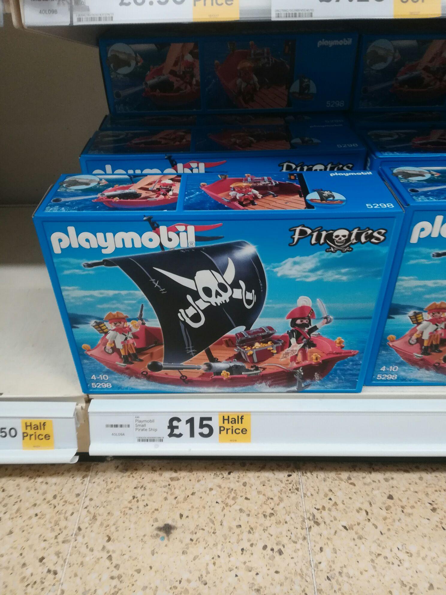 Playmobil pirate ship Halfprice £15  @ tesco instore