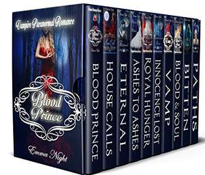 10 Book Set of Vampire Paranormal Romance by Emma Night - Kindle - Free @ Amazon