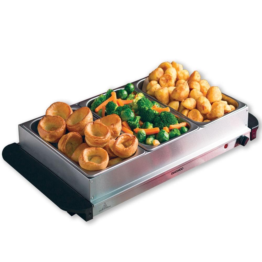 Daewoo Mains Powered Large Buffet Server Food Warmer £24.99 @ Robert dyas - Free c&c
