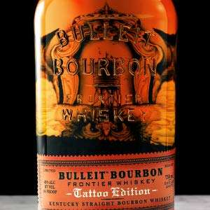 Bulleit Bourbon Limited Edition Tattoo Bottle, 70 cl at Amazon £21.90