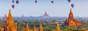 From London: 15 Night Burma/Myanmar Trip, Highly rated B&B Accommodation, Flights & Bus Transport just £418.58pp @ Ebookers