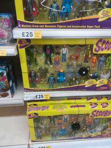 Scooby-Doo 25 piece set £25 instore @ tesco instore