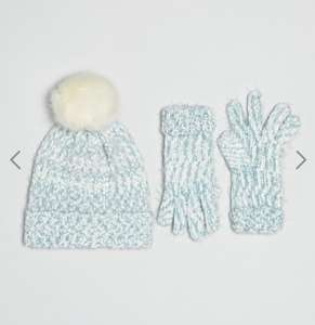 Boardmans knitted hat and glove set. ASOS £14 (£3 delivery)