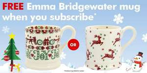Period Living or Real Homes subscription for £14.99 plus Emma Bridgewater mug