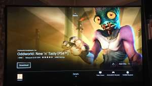 Free ps4 game oddworld: new n tasty @ PSN
