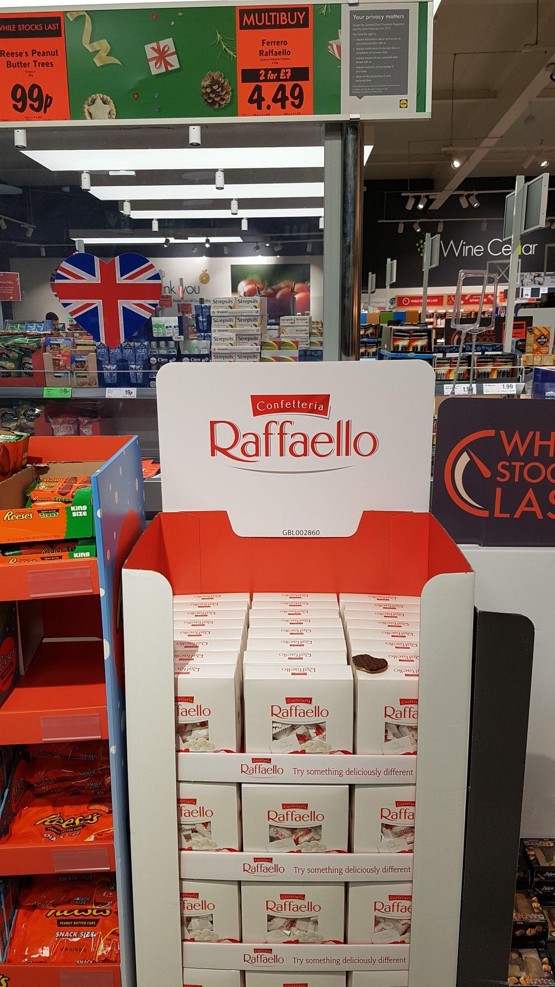 Raffaello - Lidl 2 for £7 240g each box