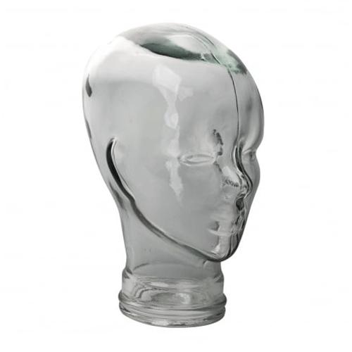 VIDRIOS SAN MIGUEL  Blue Glass Head Ornament 29x20cm £9.99 PSVR stand Head Phone Stand £9.99 @ TKMaxx