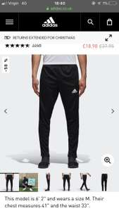 Men's Adidas Training Joggers £18 Free Delivery @ Adidas
