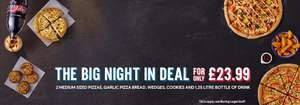 Big Night In Pizza Deal from Dominos