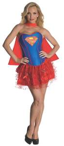 Rubie's Official Ladies Supergirl Corset and Tutu, Adult Costume - Medium £7.31 + £4.49 delivery (Non Prime) @ Amazon
