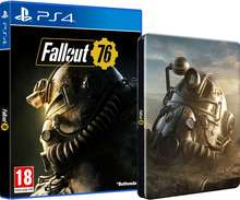 Fallout 76 + Exclusive Steelbook Case PS4 £28.85 @ Shop-To