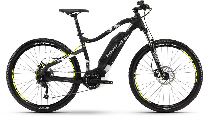 Electric Bike Haibike SDURO HARDSEVEN black/white/silver matt 2018 £1399.99 @ Thebikefactory