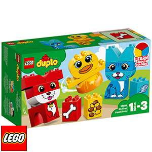 Lego Duplo My First Puzzle Pets 10858 only £6.99 @ Home Bargains