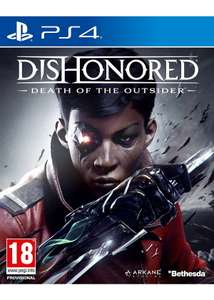 Dishonored 2 - Death of the Outsider PS4 £6.85 at Base.com
