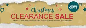 Pet planet Christmas gift clearance