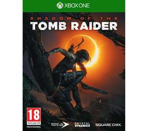 Shadow of the Tomb Raider Xbox One/PS4 £24.99 delivered @ Currys