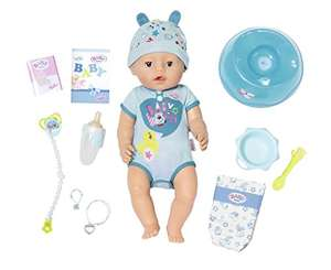 Best price for Baby Born boy doll at Amazon for £24.99