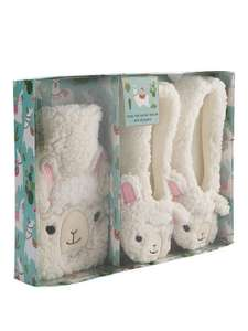 Llama hot water bottle and slipper set @ Very plus Quidco for £12.99 £3.99 postage of Free click and collect