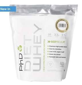 Buy one get one for a penny Diet Whey protein powder £28 delivered at Holland and Barrett