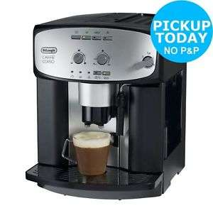 delonghi esam2800 cafe corso bean to cup coffee machine now w code ends 8pm argos