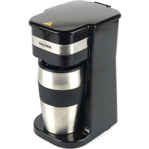 Salter Coffee Maker on the Go £22.50 with code TODAY25 was £39.99 @ The Works. Free C&C and free delivery over £20.