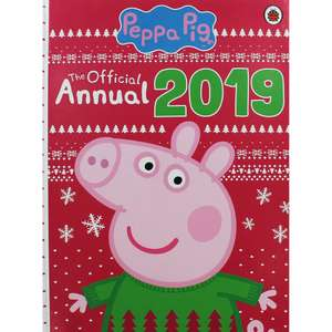 Peppa Pig Official Annual 2019 £3 @ The Works