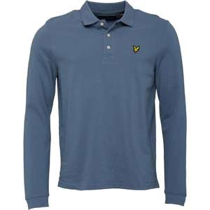 Lyle and Scott vintage long sleeve polo shirt!!! £24.99!!!